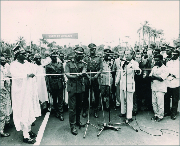 opening ceremony of road