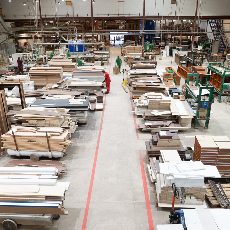Production facilities deliver high quality products